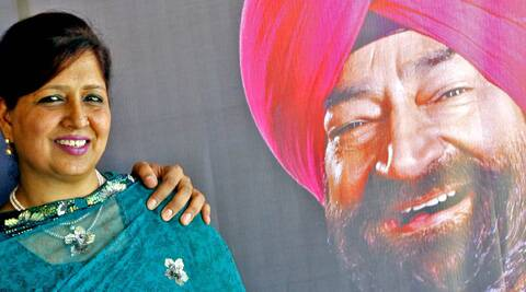 Savita, widow of comedian and satirist Jaspal Bhatti shot off an e-mail to the AAP office informing them about her decision to not contest. (Express Archive)