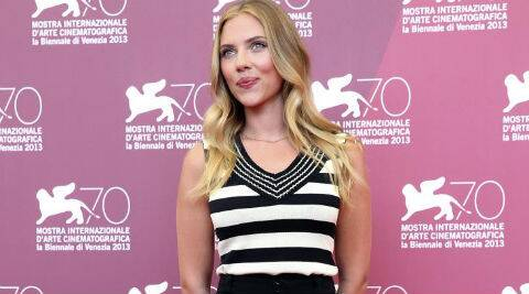 Scarlett Johansson's pregnancy news came six months after her representative confirmed last year that she was engaged to French journalist Dauriac. (Reuters)