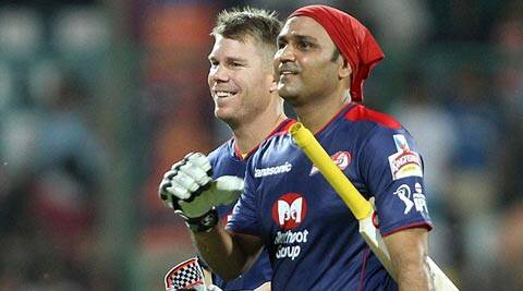 """What was Sehwag's primary tip for me? Well, to try and hit them as long as possible,"" said Aaron Finch (File)"