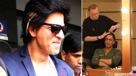 Renowned special effects makeup maestro Greg Cannom is developing Shah Rukh's look for the film.