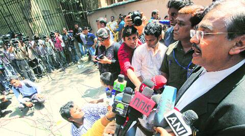 Public prosecutor Ujjwal Nikam outside the sessions court on Monday. (Ganesh Shirsekar)
