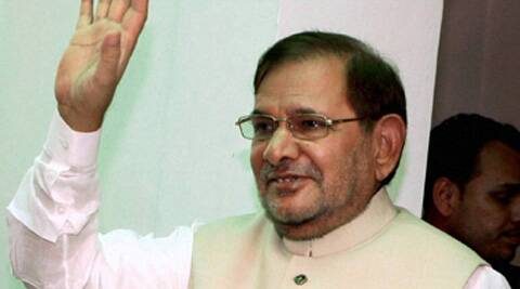 JD(U) Chief Sharad Yadav. (PTI)