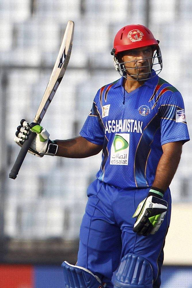 India were looking good to bowl out Afghanistan under 100, but Shenwari had other plans (AP)