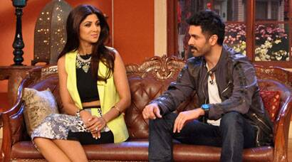 PHOTOS: Shlipa, Harman take 'Dishkiyaoon' to Kapil's comedy show