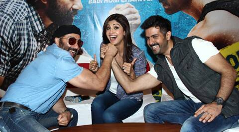 Speaking about her film, Shilpa Shetty says that 'Dishkiyaoon' contains action, mystery and is entertaining.