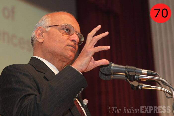 <b>Shivshankar Menon</b> (64), National Security Advisor<br /> <b>WHY</b>: Because he has the ear of the PM when it comes to foreign and security policy. On Pakistan, China and the US, he is one of the most influential players in officialdom, driving foreign and security policy from PMO.