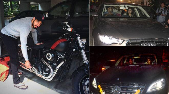 Alia Bhatt, Sidharth, Shraddha and their high-end luxury cars