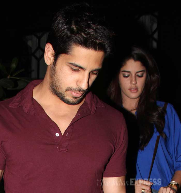 Meanwhile, 'Hassee Toh Phasee' actor Sidharth Malhotra was also seen with an unknown girl on Wednesday (March 5). (Photo: Varinder Chawla)