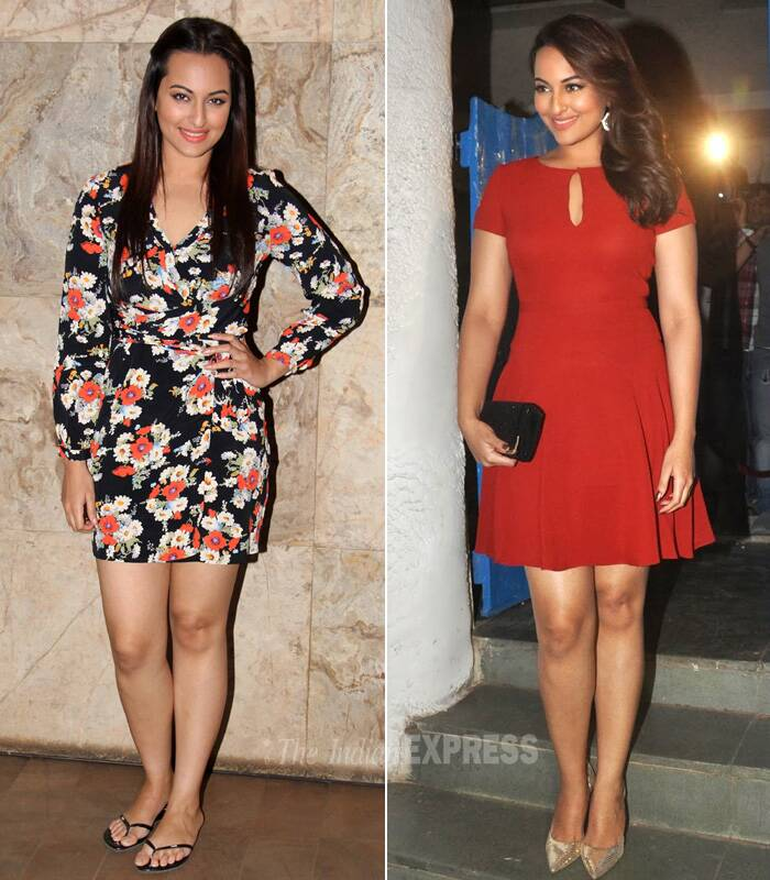 And we must add here that Sonakshi Sinha is indeed on the right track. Way to go girl!