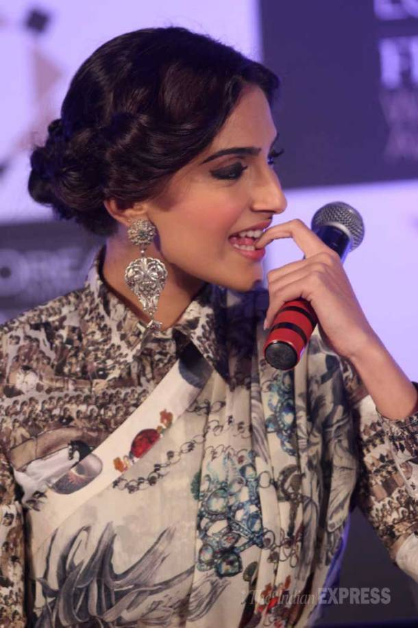 SRK goes suave, fashionista Sonam dazzles once again