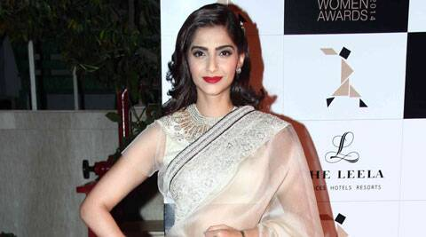 "Sonam Kapoor tweeted, "" First day of dolly ki doli!!!"""