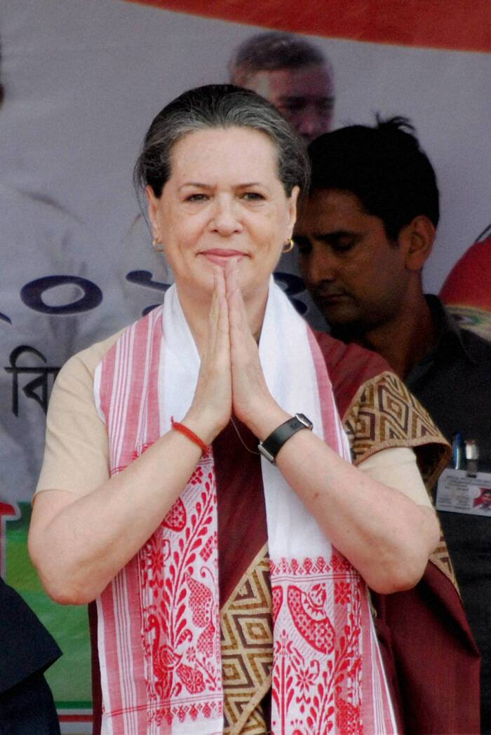 "Mounting an attack on the BJP, UPA Chairperson Sonia Gandhi said the Opposition party ""talks big"" and believes in the ""politics of hate."" Congress has strengthened the country's 'Ganga-Jamuna' culture but the BJP is all out to weaken the country, she said addressing an election rally in Lakhimpur town. ""The opposition, particularly the BJP, are going round the country indulging in big talk but what did their government do when they were in power at the Centre? There is a big difference between talking and working"", Gandhi said. (PTI)"