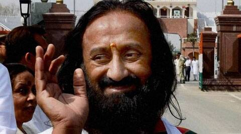 "Sri Sri urged his followers to usher in ""change"" to save the country, which he said was on a ""ventilator"". (PTI)"