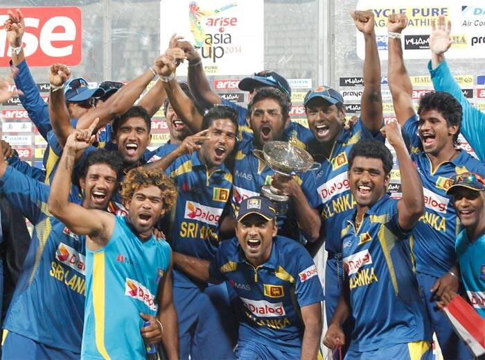 Asia Cup 2014: Champions Sri Lanka get a grand welcome