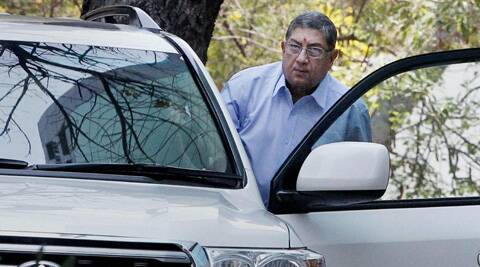 N Srinivasan remained silent on Supreme Court's observation that demands his ouster as BCCI president. (PTI)
