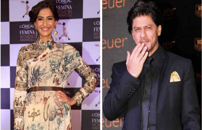 Style diva Sonam Kapoor and actor Shah Rukh Khan were busy with their respective promotional activities. While Sonam attended an event for a hair product brand, SRK unveiled new a designer watch collection.