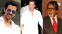 Shah Rukh Khan, Hrithik Roshan, Big B wish fans Happy Holi