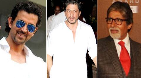SRK Hrithik Big B