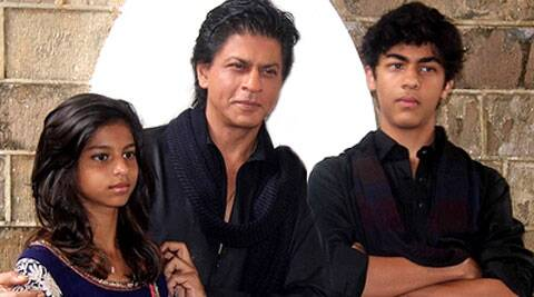 SRK is known to be a doting father.