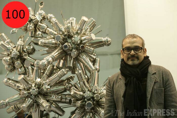 <b>Subodh Gupta</b> (50),  artist<br /> <b>WHY</b>: He is India's face of contemporary art in the world, and critics often describe him as the 'Damien Hirst of India'.
