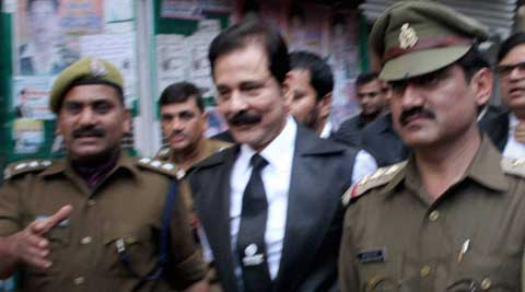 Subrata Roy has been kept at a state forest department guest house in Kukrail reserve forest. (PTI Photo)