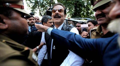 Subrata Roy, 65, has been in Tihar jail since March 4. (Express Archive)