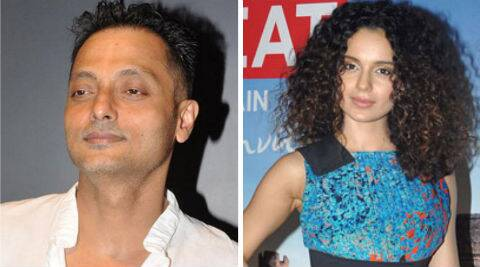 Buzz is that Sujoy Ghosh has signed Kangna Ranaut due to Vidya Balan's alleged pregnancy.