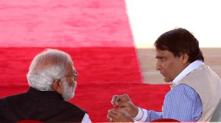 Suresh Prabhu offers to resign as Railways minister, PM Narendra Modi 'asks him to wait'