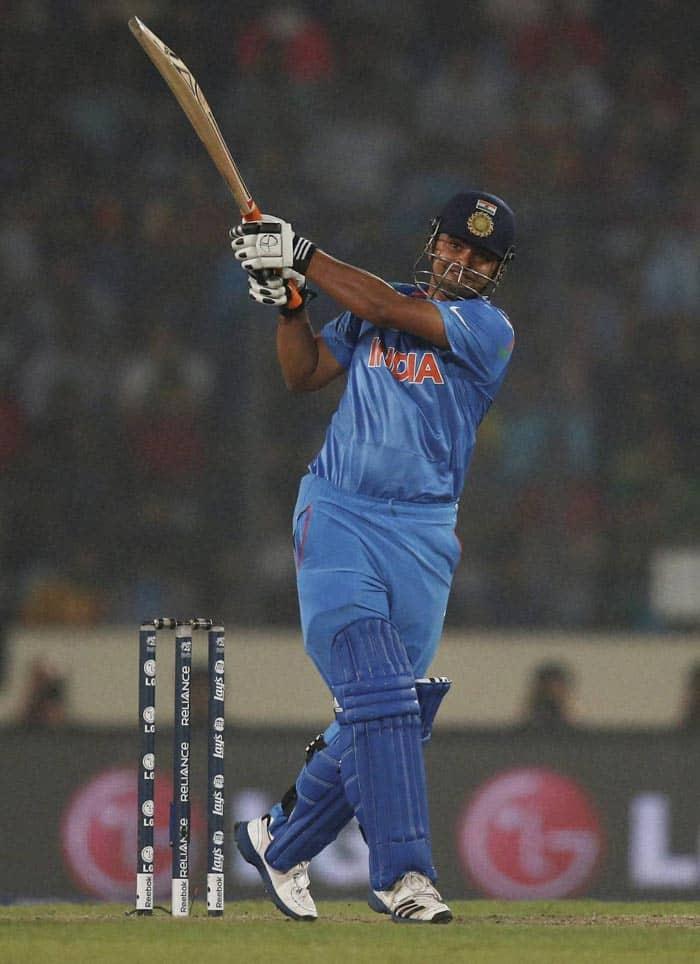 Suresh Raina's runs came off 35 balls with equal number of boundaries and six (AP)