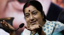 No one to receive her, Sushma gives candidate  an earful