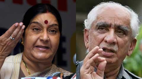 Jaswant asked his supporters to differentiate between 'real and fake BJP' while Sushma Swaraj expressed sadness over it.