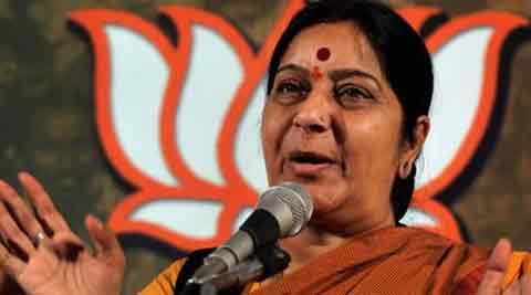 Swaraj said she was pained at the party's decision to deny a Lok Sabha ticket for Jaswant Singh.