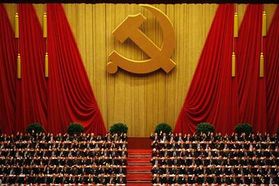 China's top leaders gathered in Beijing for the highlight of the annual political calendar – the National People's Congress. (Reuters)