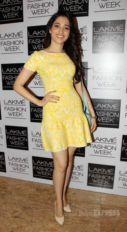 Lovevbirds Armaan-Tanishaa, Kalki, Genelia at Lakme Fashion Week 2014