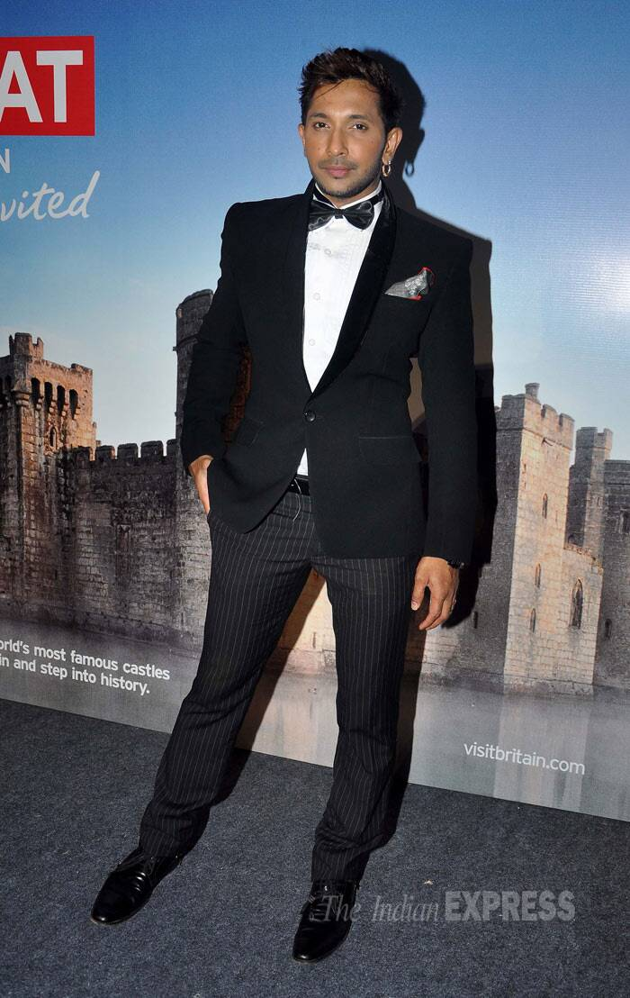 Celebrity choreographer Terence Lewis of 'Dance India Dance' was dapper in a tuxedo. (Photo: Varinder Chawla)