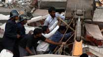 Seven-storey building collapses in Mumbai