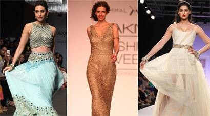 PHOTOS: Lakme Fashion Week's stunning showstoppers – Karisma, Kalki Nargis