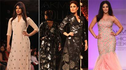 PHOTOS: Lakme Fashion Week finale - Dazzlers Kareena, Priyanka, Sunny Leone