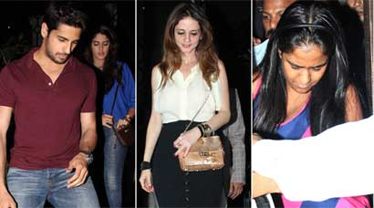 PHOTOS: Sussanne, Sidharth and the case of mystery dates, Arpita enjoys night out