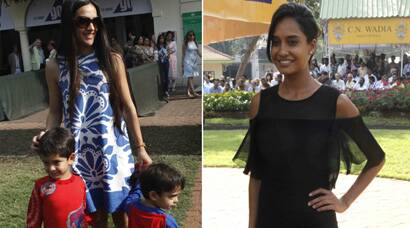 PHOTOS: Lisa Haydon, Tara Sharma's Sunday outing