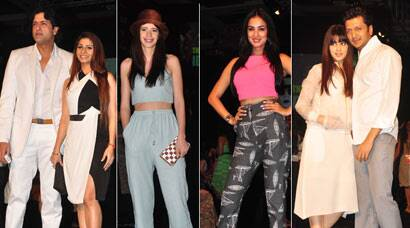 Lovevbirds Armaan-Tanishaa, Kalki at LFW 2014
