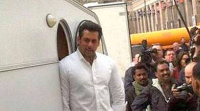 Photos: Salman Khan shoots for Kick in Poland