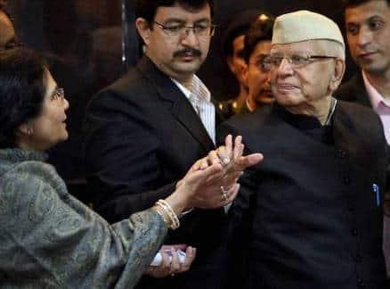 ND Tiwari finally accepts Rohit Shekhar as his biological son