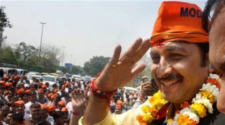 Tiwari said he wants to win his seat to help Narendra Modi become the Prime Minister.