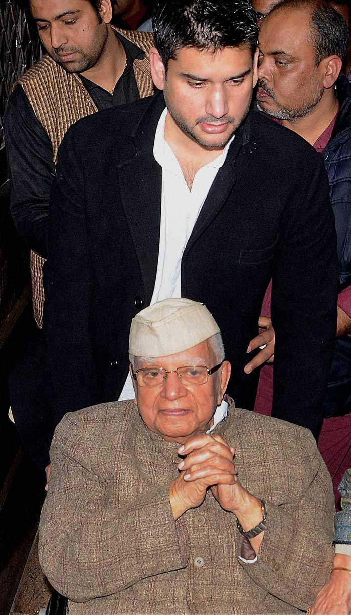 Rohit Shekhar had approached court against Tiwari in 2008, claiming he was born out of an affair between the Congress leader and his mother. In 2012, Mr Tiwari was forced to give samples of his DNA for a paternity test which established Tiwari as Shekhar's biological father. (PTI)
