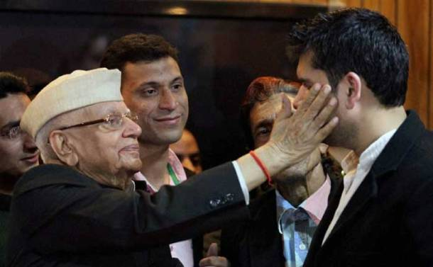 ND Tiwari finally accepts Rohit Shekhar as his biological son