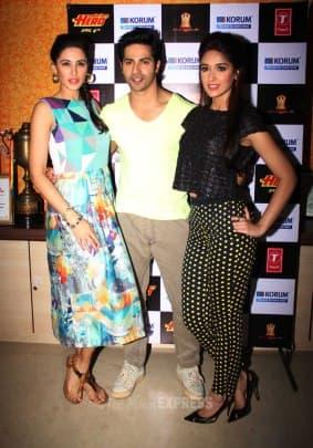Ileana, Nargis and their hero Varun