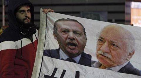 The move is the latest blow struck in a rivalry between Prime Minister Recep Tayyip Erdogan and his former ally Fethullah Gulen. (Reuters)