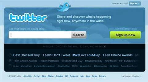 It's Twitter's 8th Birthday. (Reuters)