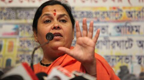 Uma Bharti said that she will contest from Rae Bareli as well if BJP asks her to. (Express Archive)